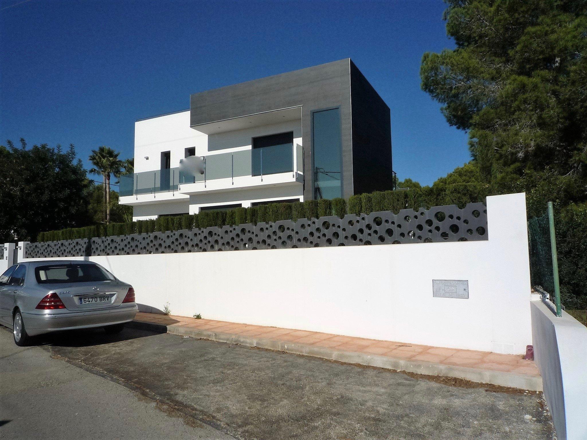 Недавно построенная вилла в современном стиле в Ла-Фустера - Бенисса Коста