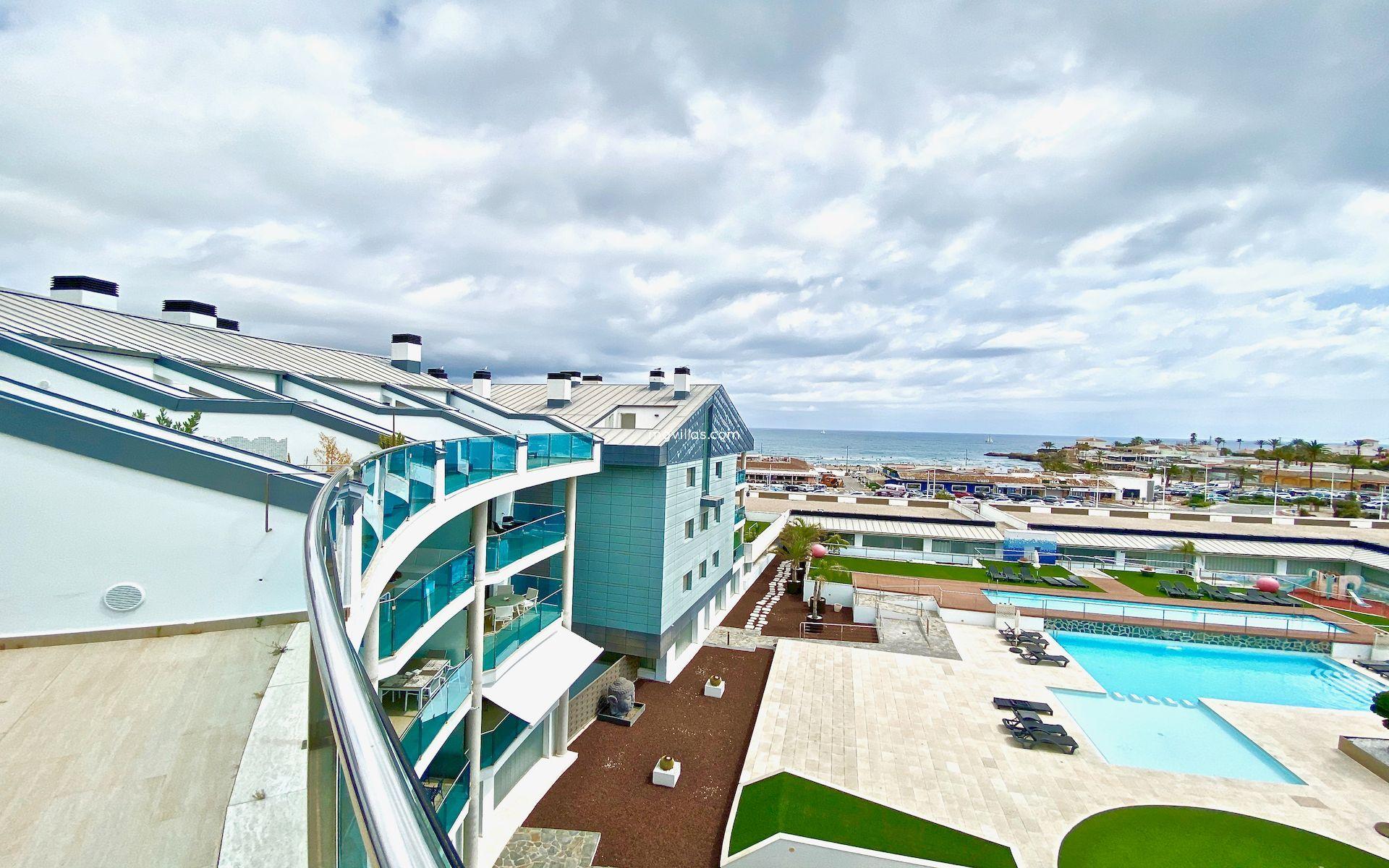 4 спальни дуплекс пентхаус с видом на море - Javea - Коста Бланка