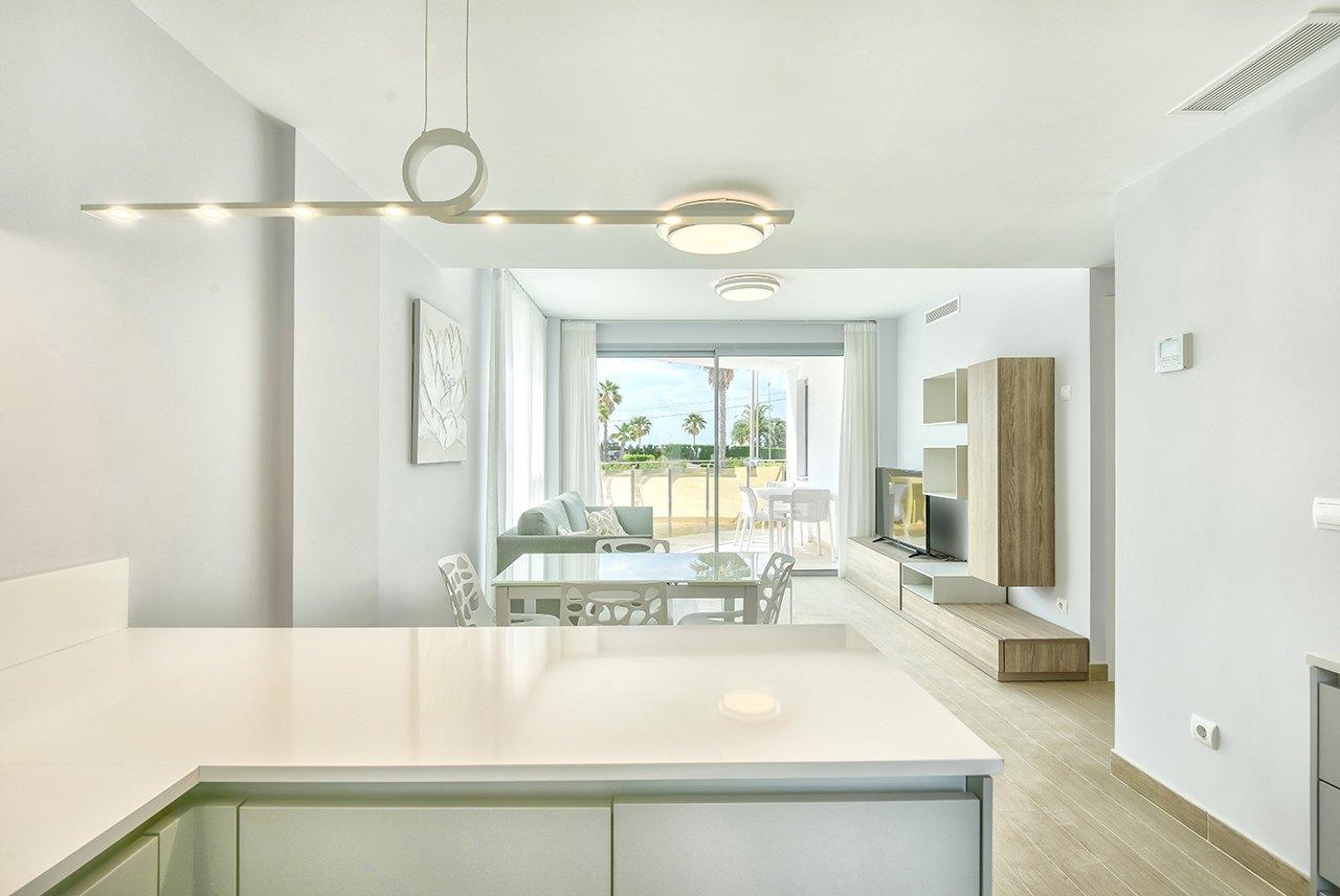 Новая строительная квартира для продажи в Кальпе с видом на море - Коста Бланка